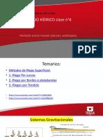 Clase Manejo Hídrico n°4