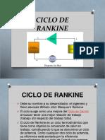ciclo de rankine - trabajo