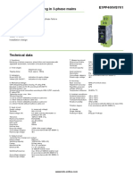 datasheet monitor de fases