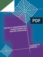 BRASIL. SEPPIR. Cadernos de Debates - Povos e comunidades tradicionais de Matriz Africana.pdf