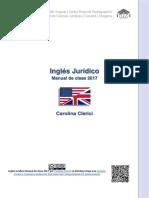 Inglés Jurídico-manual de Clase 2017