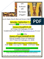 St. Martin's STG Extended 8-25-19 Brunch With Queens of Egypt 2019 09 07