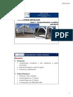 ESME - Aula 5 - Comportamento e Análise Estrutural-V2