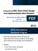 Bicsi 002 Data Center Design and Implementation Best Practices