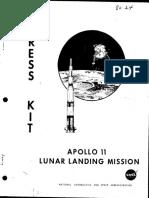 Apollo 11 Press Kit