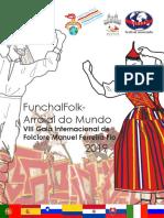 """Revista """"FunchalFolk - Arraial do Mundo"""" 2019"""