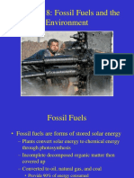 Chapter 18 Fossil Fuels and the Environment