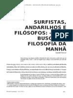 6 - Surfistas Andarilhos e Filósofos