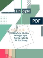 Presentation about Dirichlet Principle