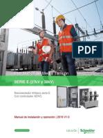 Manual de Instalación E-Serie (27kV y 38 KV) - Spanish