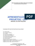 Manual de Apresentacao de Projetos