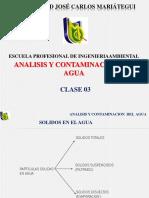 Clase 03 Analisis y Contaminacion Del Agua