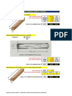 Carpentry Calculation