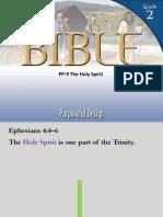 PP-9 the Holy Spirit