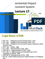 Lecture 17. Environmental Impact Assessment