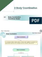 Chap 2 Body Coordination.