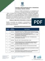 Informe Habilitados y No Habilitados 30 de Julio de 2019