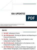 ISA Updates for CGS-Mr. Jekell Salosagcol