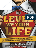 First Full Chapter of the Steve's Book, Level Up Your Life