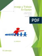 El Liderazgo y Trabajo En Equipo.pptx