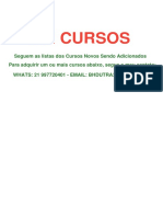 Cursos Marketing Vários