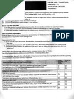 Australia Requirement Checklist