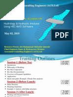 Hydrology & Hydraulic Analysis Using HEC-RAS Software