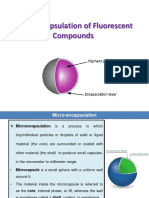 Microencapsulation of Fluorescent Compounds