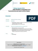 Programa Dialogo 2030 SDG Index 19 1