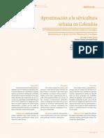 Aproximación a La Silvicultura Urbana Colombia