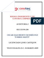 OscarRodriguez_31121727_Tarea-11_Riesgo Inherente y de Control Empresa