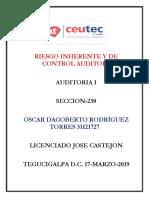 OscarRodriguez_31121727_Tarea-12_Riesgo Inherente y de Control Auditor