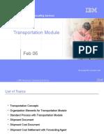 modulo de transporte