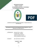 Informe Erp Polleria Marios