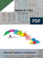 El español de Cuba