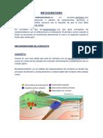 informacion de yacimientos minerales