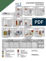 Kalender Pendidikan 2019-2020