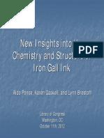 IR - Iron gall ink