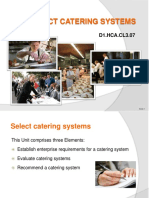 6. Catering Systems