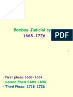 Bombay Judicial System On10th January 2018