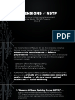 2 Dimentions of Nstp