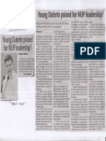 Daily Tribune, Aug. 6, 2019, Young Duterte poised for NUP leadership.pdf