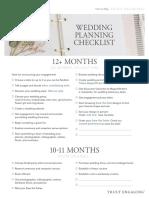 Wedding Planning Checklist 2129