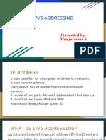 IPv6 ADRESSING
