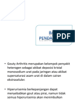 Slide Gouty Arthritis