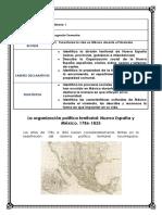 La organización política territorial