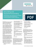 PTI PSC Protective Grounding DataSheet