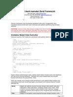 Tutorial Awal Dengan Zend Framework 123