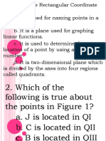 Math 8 Post Test Module 2