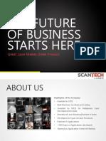 Company Catalogue - Scantech Laser